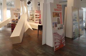 Präsentation Ausstellungstafeln im ESC